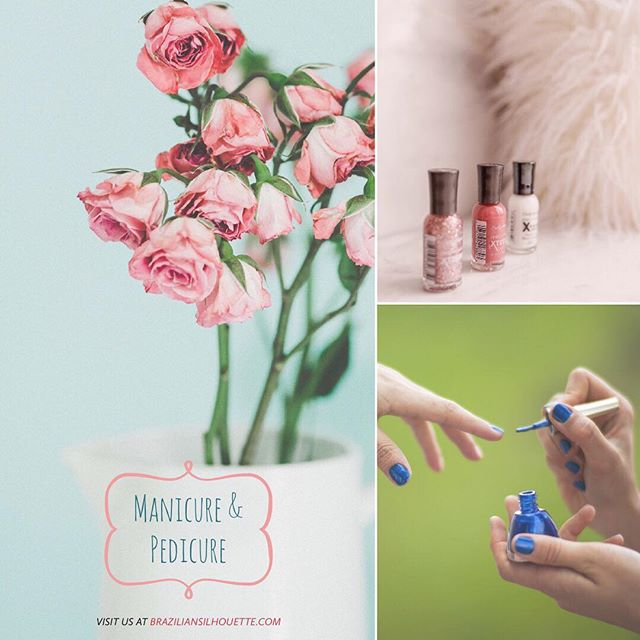 Brazilian Signature Manicure And Pedicure