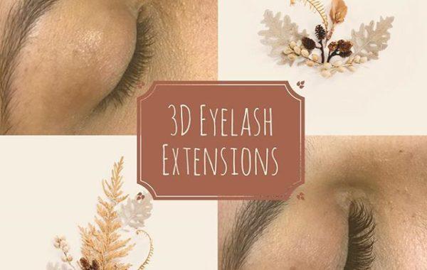 3D Eyelash Extensions
